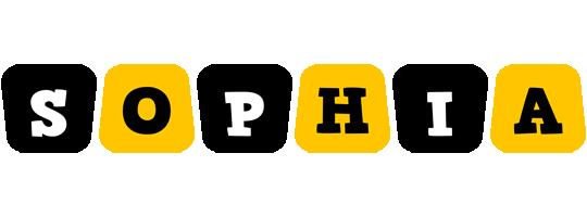Sophia boots logo