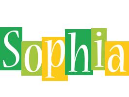 Sophia lemonade logo