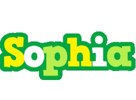 Sophia soccer logo