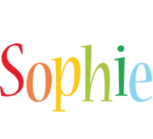Sophie birthday logo