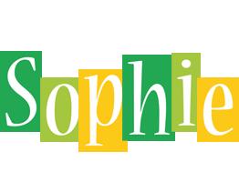 Sophie lemonade logo