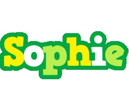 Sophie soccer logo