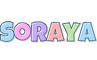 Soraya pastel logo