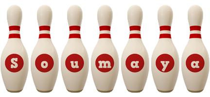 Soumaya bowling-pin logo