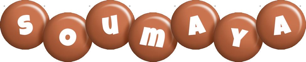 Soumaya candy-brown logo