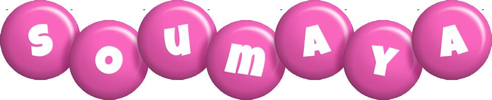 Soumaya candy-pink logo