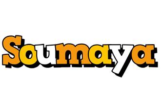 Soumaya cartoon logo