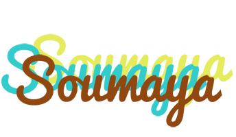 Soumaya cupcake logo
