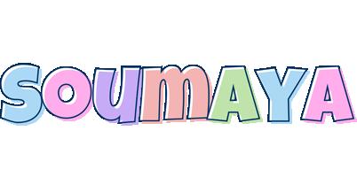 Soumaya pastel logo