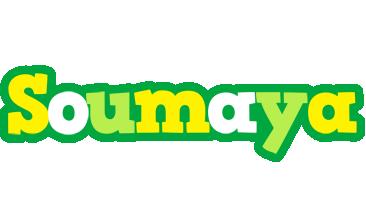 Soumaya soccer logo
