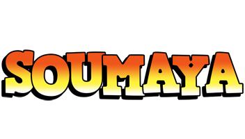Soumaya sunset logo