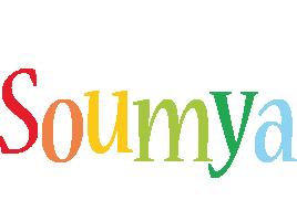 Soumya birthday logo