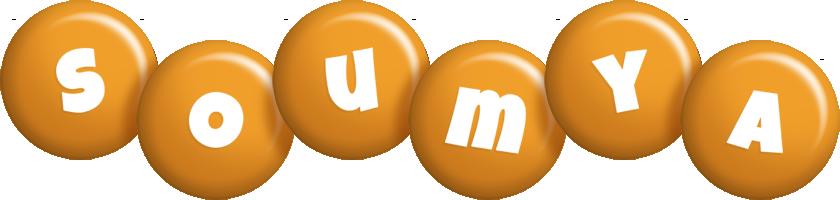 Soumya candy-orange logo
