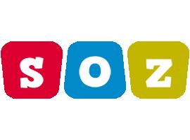 Soz kiddo logo