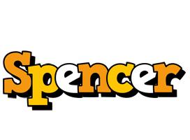 Spencer cartoon logo