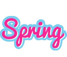 Spring popstar logo