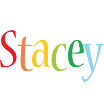 Stacey birthday logo