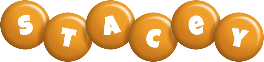 Stacey candy-orange logo