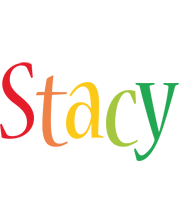 Stacy birthday logo