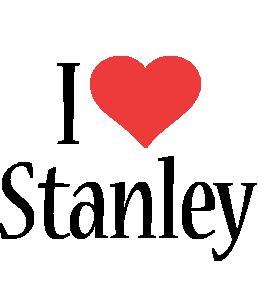 Stanley i-love logo