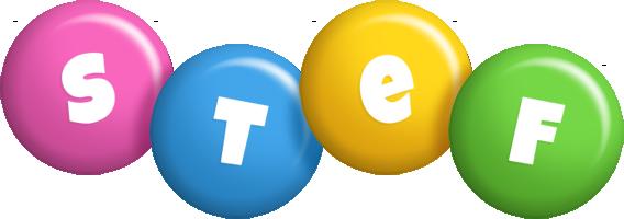 Stef candy logo