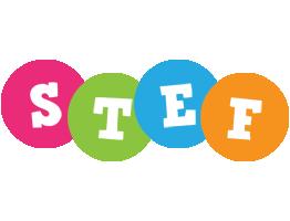 Stef friends logo