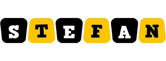 Stefan boots logo