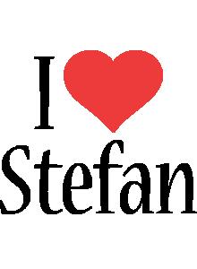 Stefan i-love logo