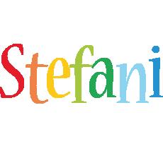 Stefani birthday logo