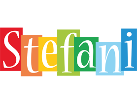 Stefani colors logo