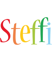 Steffi birthday logo