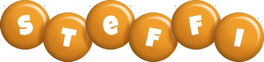 Steffi candy-orange logo