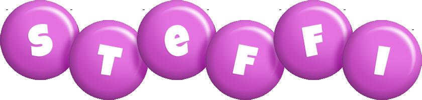 Steffi candy-purple logo