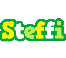 Steffi soccer logo