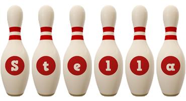 Stella bowling-pin logo