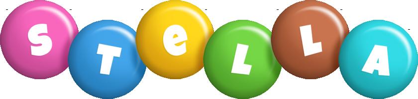 Stella candy logo