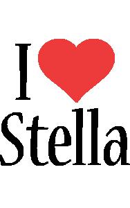 Stella i-love logo