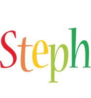 Steph birthday logo