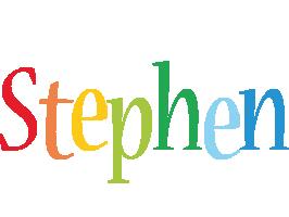 Stephen birthday logo