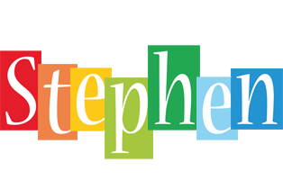 Stephen colors logo
