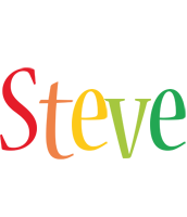 Steve birthday logo