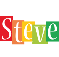 Steve colors logo