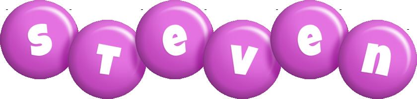 Steven candy-purple logo