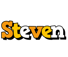Steven cartoon logo