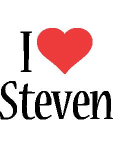 Steven i-love logo