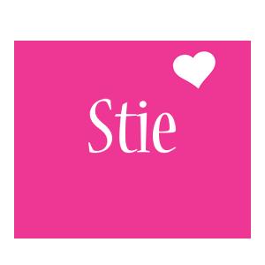 Stie love-heart logo