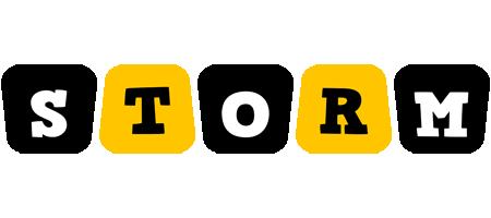 Storm boots logo