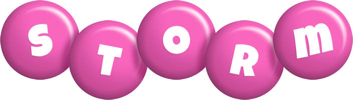 Storm candy-pink logo