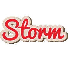 Storm chocolate logo