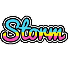 Storm circus logo